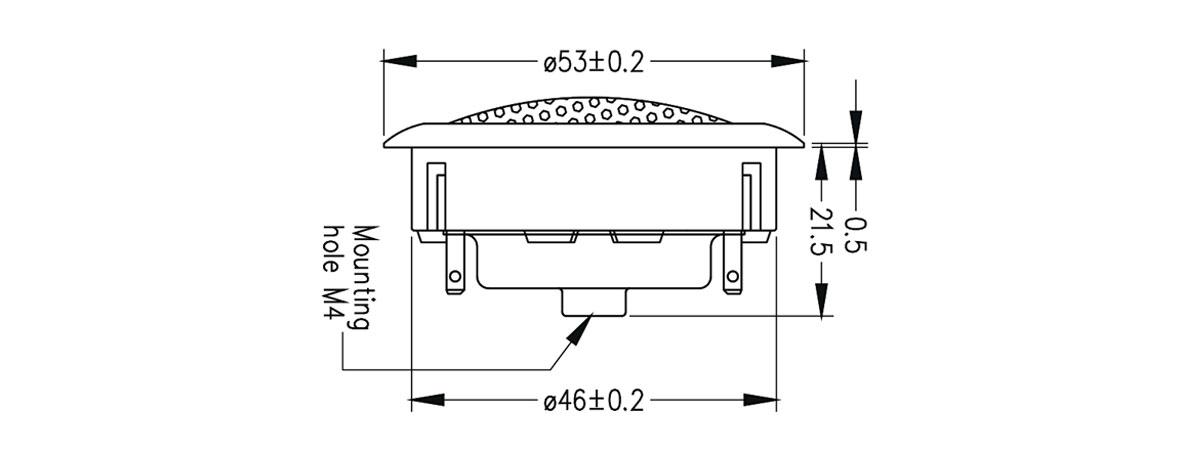 dimensioni PT27F