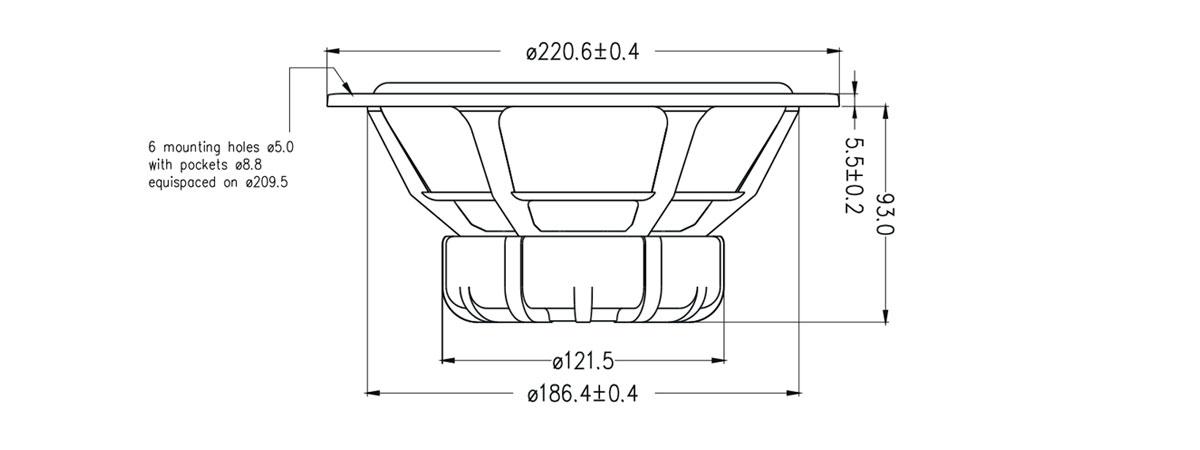 dimensioni RW220